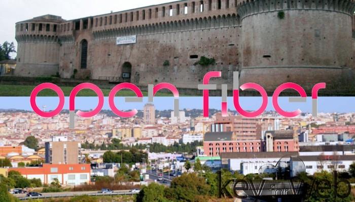 La fibra ottica di Open Fiber arriva ad Imola e Sassari