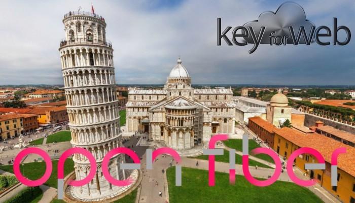 Pisa accelera con la fibra ottica di Enel Open Fiber