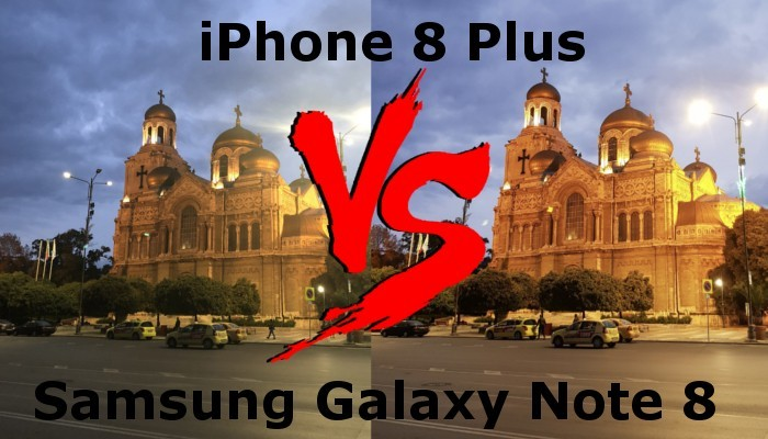 iPhone 8 Plus vs Samsung Galaxy Note 8: test fotografico in condizioni estreme