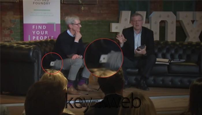 Tim Cook esegue il primo Drop Test di iPhone X in pubblico