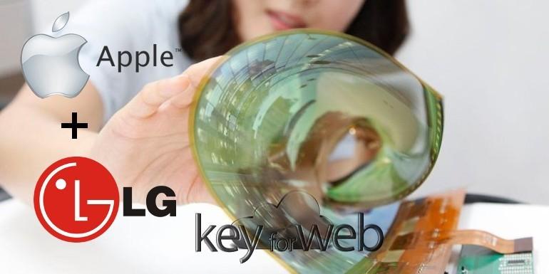 iPhone pieghevole: Apple si allea con LG per sfidare Samsung