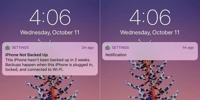 iOS 11 su Apple iPhone X mostrerà le notifiche solo se chi sta guardando lo smartphone ne è il proprietario