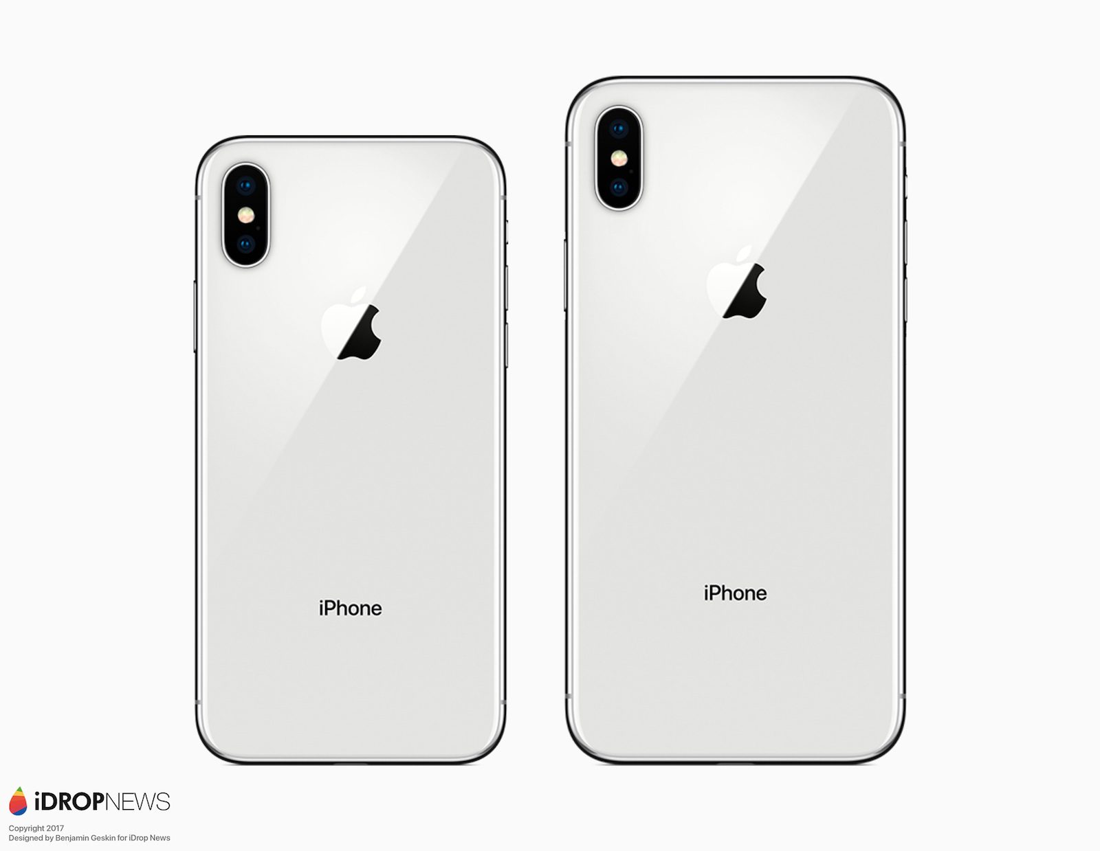 Escono i primi render su un possibile futuro iPhone X Plus con display da 6.4 pollici
