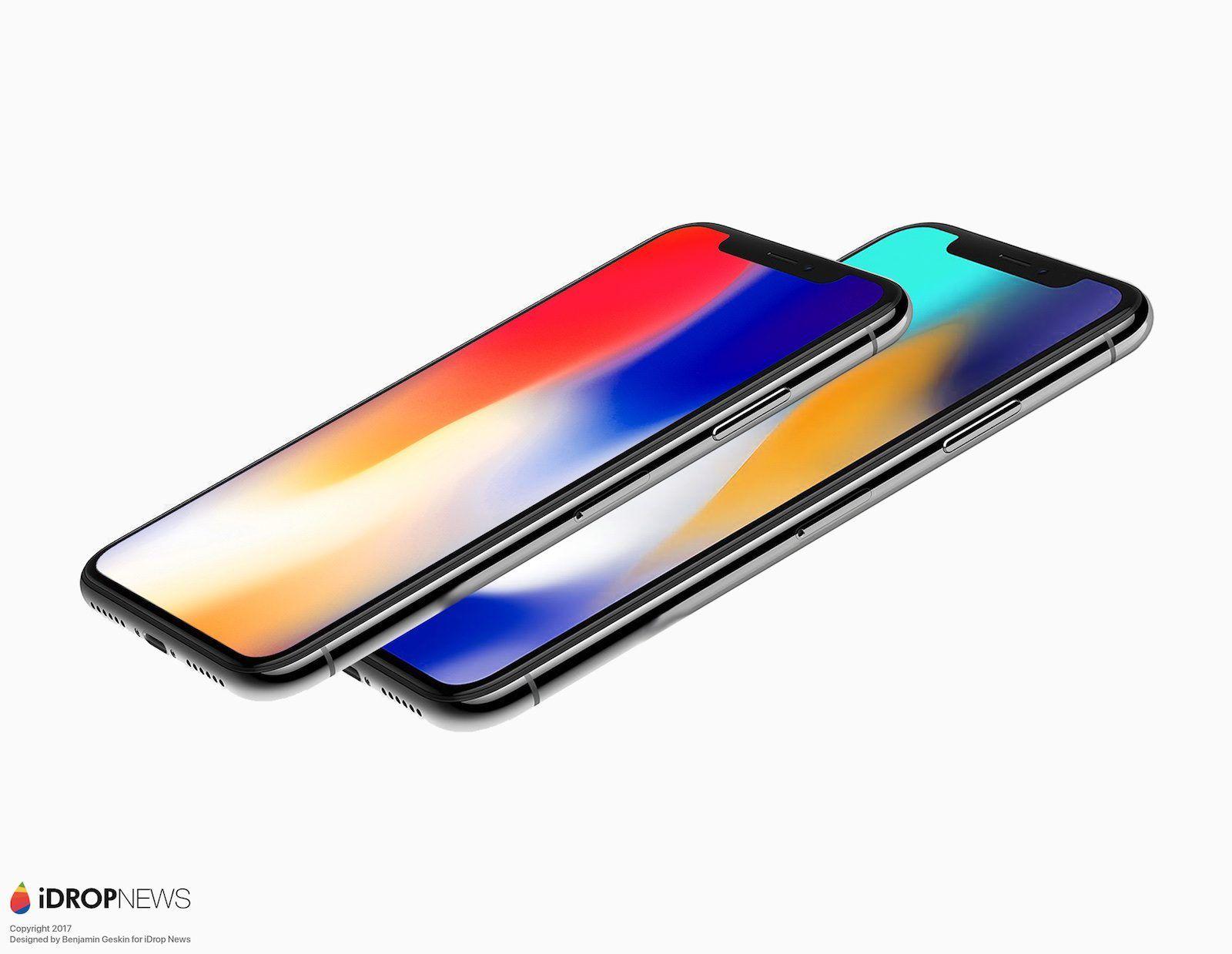 Un esemplare del nuovo iPhone X bianco compare in un breve video