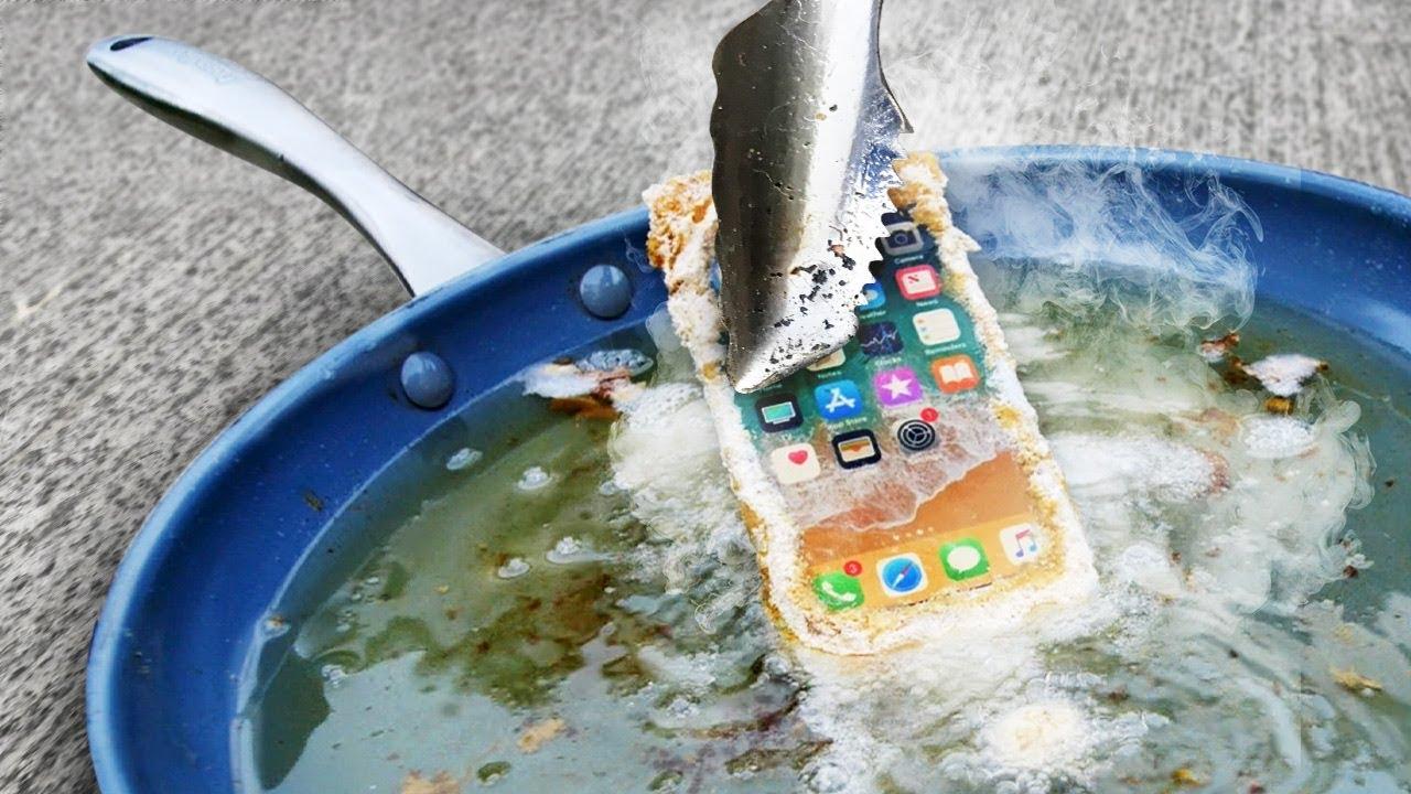 Nuovi iPhone 8, un nuovo drop test frigge letteralmente i dispositivi