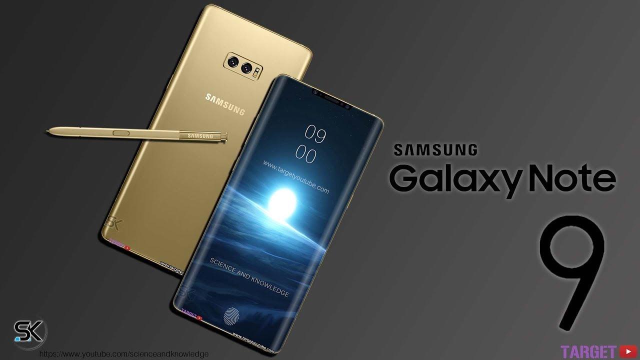 Samsung Galaxy Note 9 è la fotocopia esatta di Galaxy S9