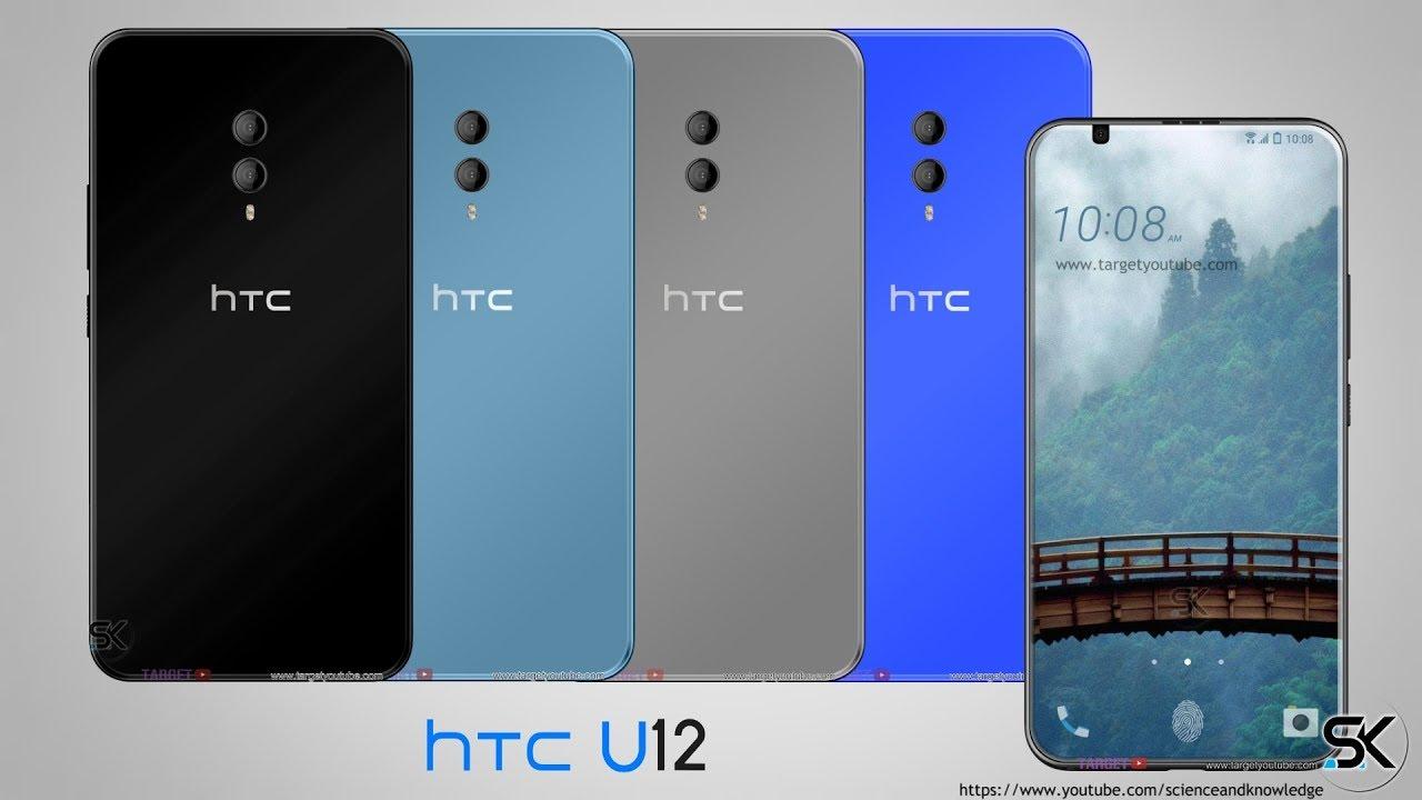 HTC U12 è il vero borderless 2018: doppia fotocamera e design da urlo