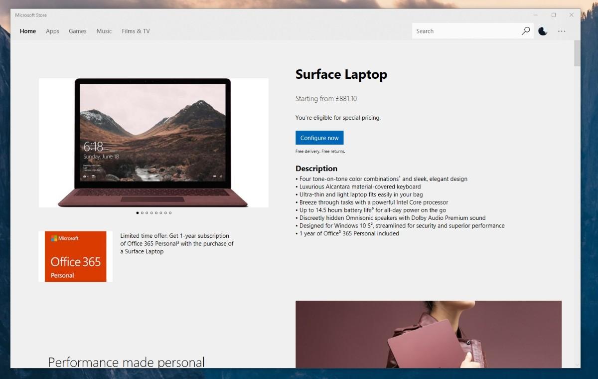 Microsoft Store potrebbe introdurre la vendita di hardware