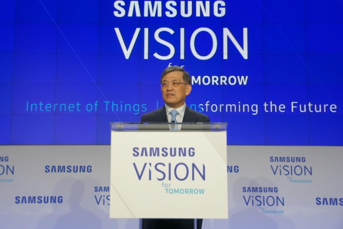 Il CEO di Samsung si dimette ma le previsioni per il prossimo trimestre sono ottime