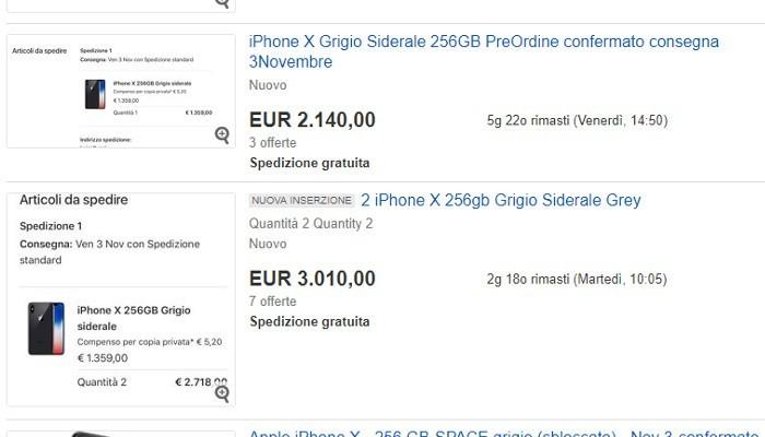 offerte iPhone X