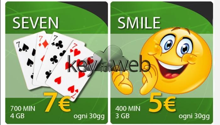 Offerte NoiTel Mobile: Tutto Smile e Tutto Seven a partire da 5 euro
