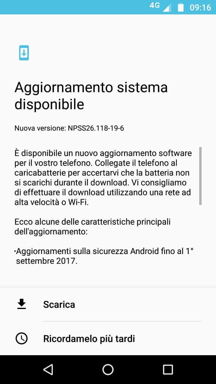 Moto Z2 Play e Honor 6X si aggiornano in Italia con le patch di sicurezza di settembre