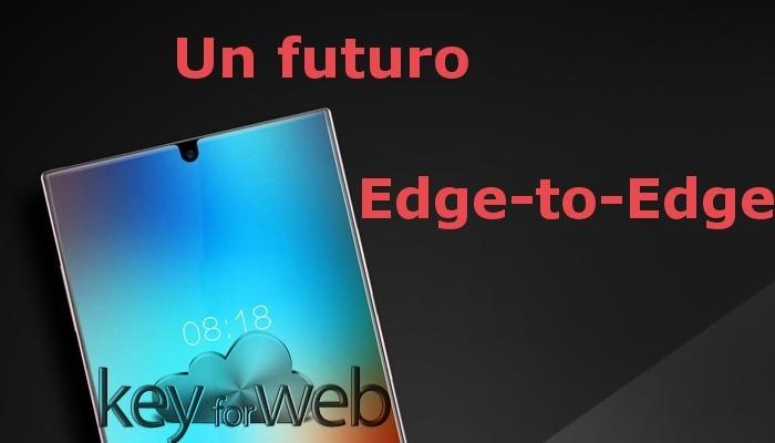 Un futuro Edge-to-Edge con un nuovo prototipo di smartphone che potrebbe aprire la strada a nuovi design