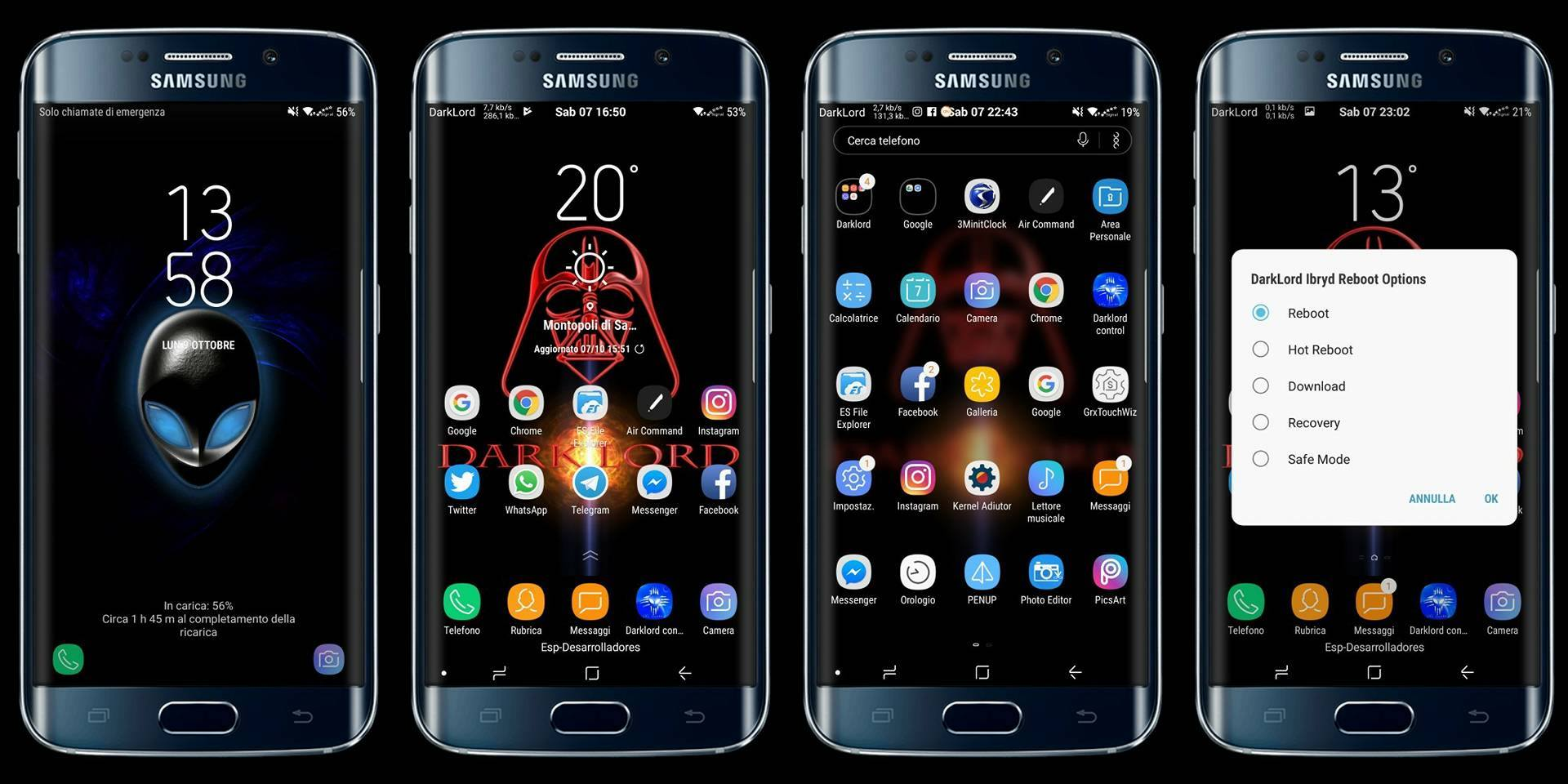 Come trasformare Galaxy S7 in S8 / NOTE 8 con la ROM DARKLORD IBRYD NOTE 8/S8+