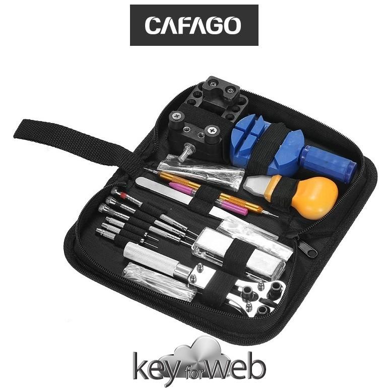 CAFAGO dedica il suo tempo agli orologi con un set completo per la riparazione