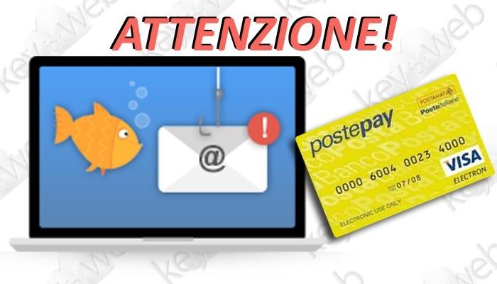 """""""Carta Sospetta"""", le truffe PostePay sempre più pericolose"""