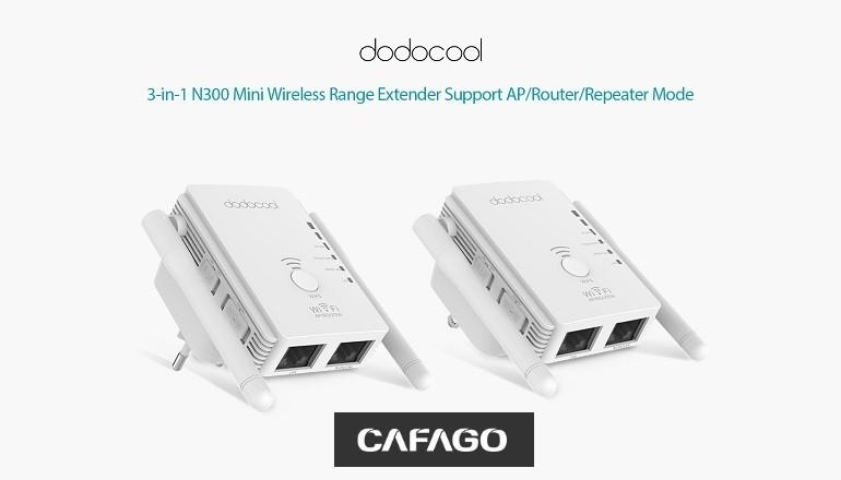 Networking CAFAGO con un amplificatore di segnale wireless a meno di 15 euro