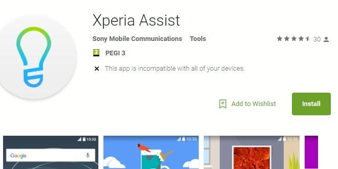 Xperia Assist sbarca sul Play Store: presto su tutti gli smartphone Sony