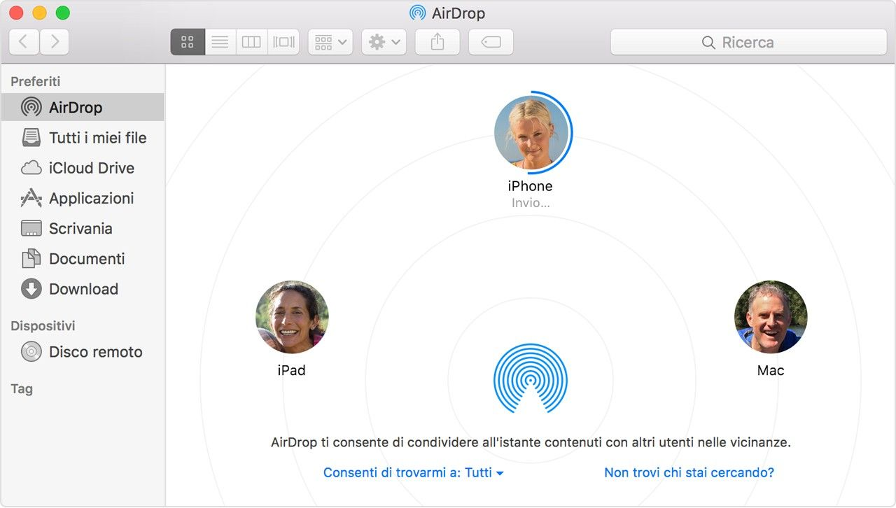 Apple AirDrop, in arrivo i concorrenti da Microsoft e Google