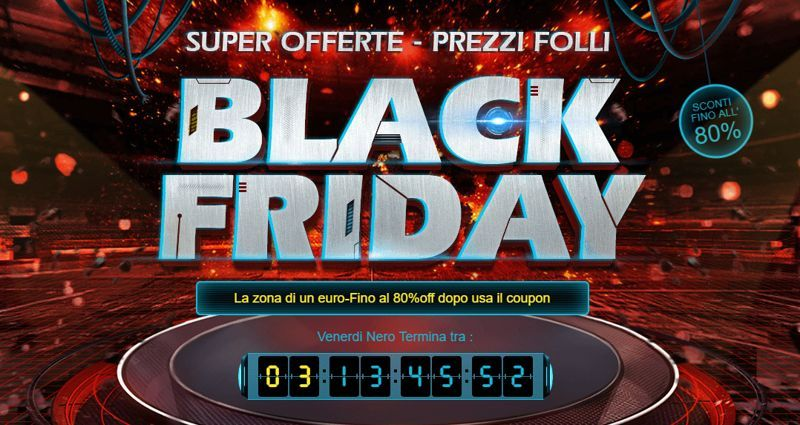 Black Friday 2017 GearBest speciale smartphone Android a meno di 90 euro
