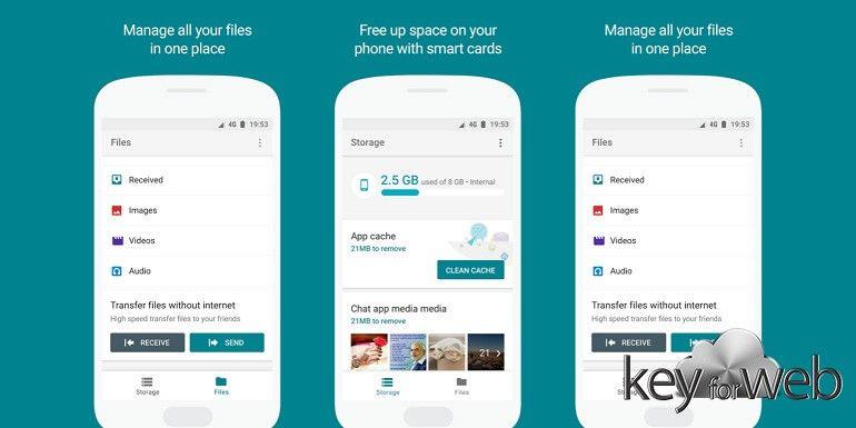 Google Files Go: il nuovo file manager avanzato per Android