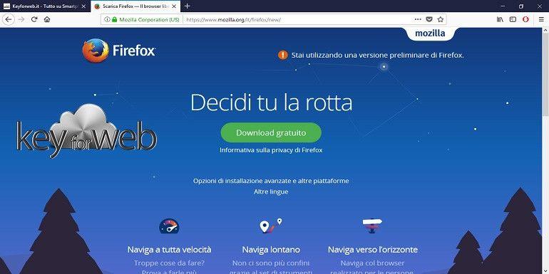 Firefox Quantum per Windows è arrivato: design e prestazioni al top