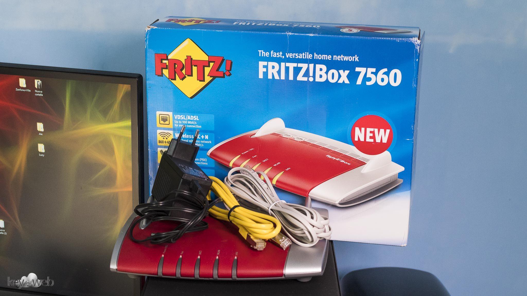 recensione fritz box 7560 il modem router per eccellenza. Black Bedroom Furniture Sets. Home Design Ideas