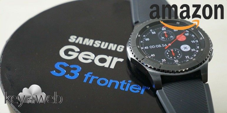 Samsung Gear S3 in super sconto per il Black Friday Amazon 2017