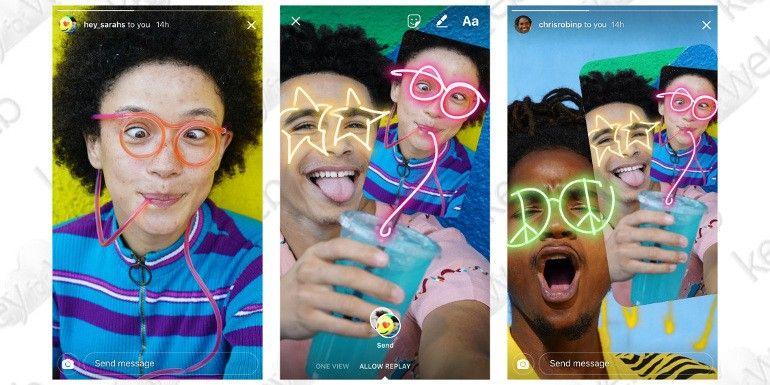 """Instagram lascerà """"vandalizzare"""" le foto degli amici con sticker e testi"""