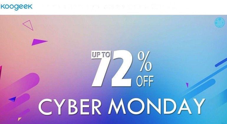 Koogeek Cyber Monday 2017 sconti fino al 3 dicembre