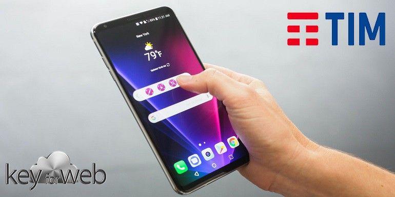 LG V30 con TIM: prezzi di listino e costi di abbonamento