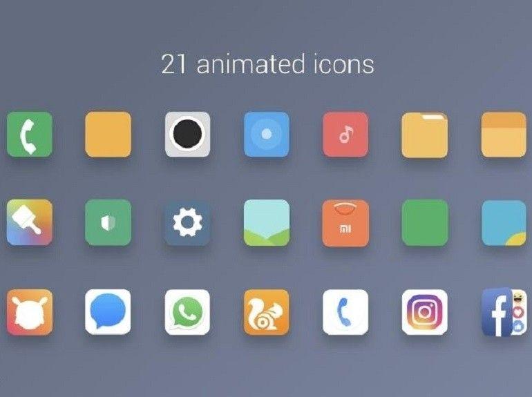 MIUI 9 Icone animate