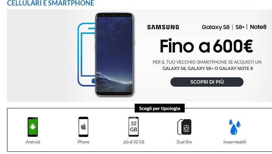 Problemi con offerte ePrice del Black Hour: prezzo iPhone 8 e Galaxy S8 pre Black Friday 2017