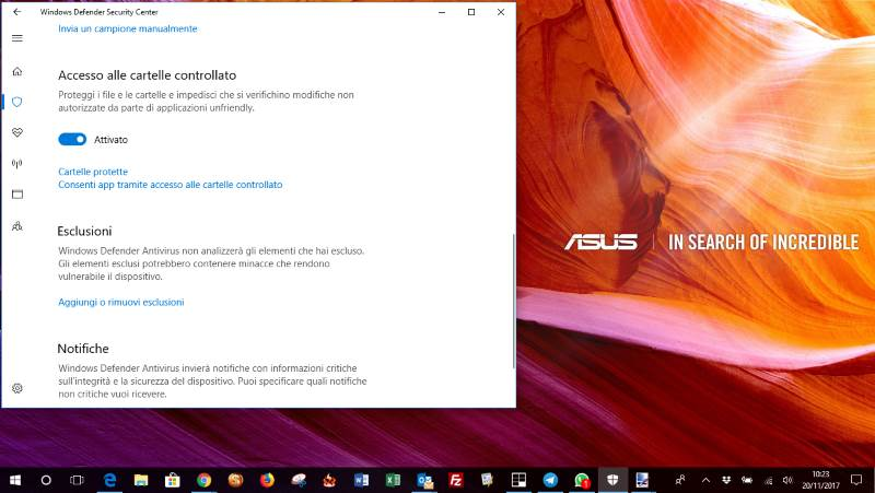 Proteggere il PC dai ransomware gratis con Windows 10