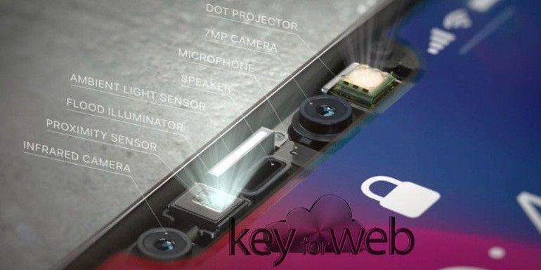 TrueDepth di Apple iPhone X invierà informazioni a terzi