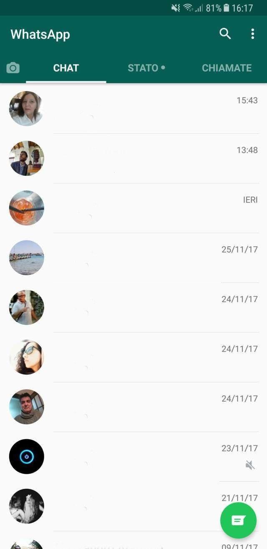 Perché non vedo l'aggiornamento WhatsApp?