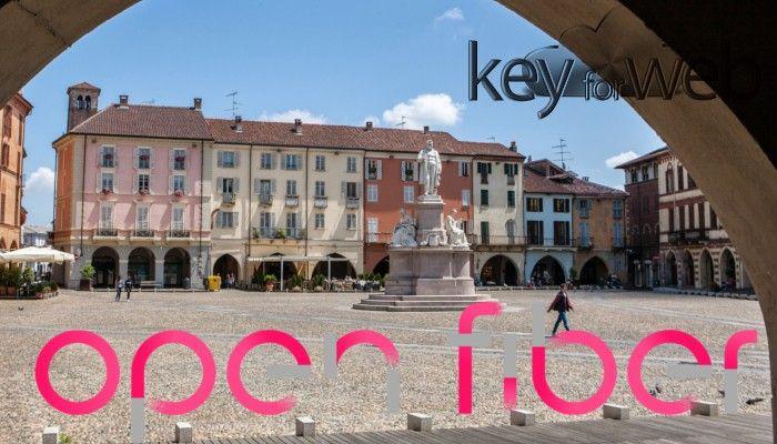 Fibra Ottica Italia a Vercelli grazie Open Fiber