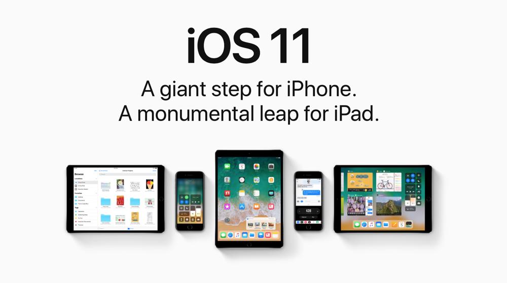iOS 11 raggiunge il 52% degli utenti Apple