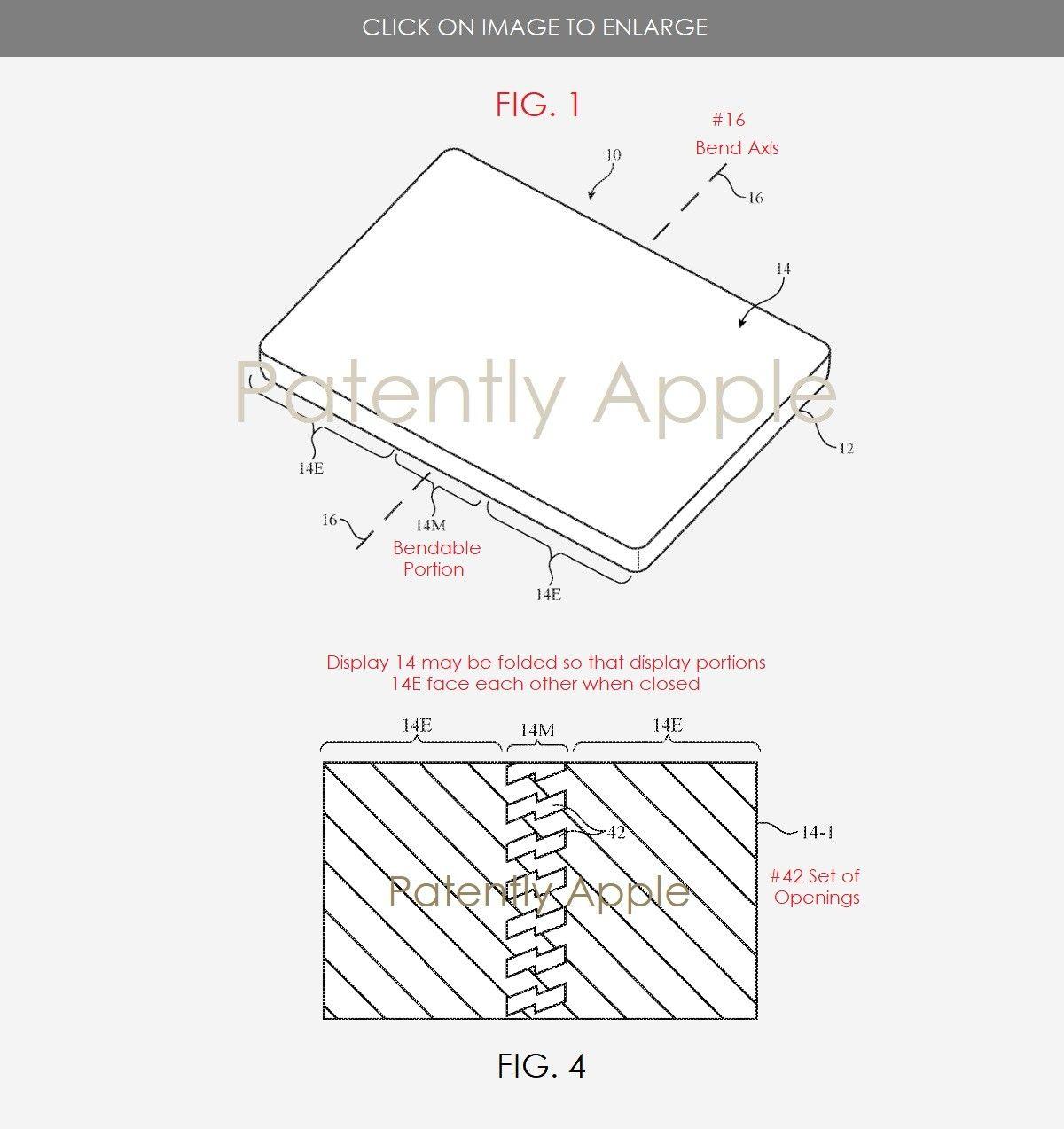 iPhone pieghevole, in rete appare un brevetto di Apple