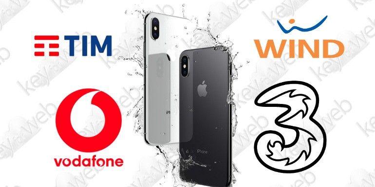 iPhone X: le offerte di TIM, Vodafone, Wind e Tre