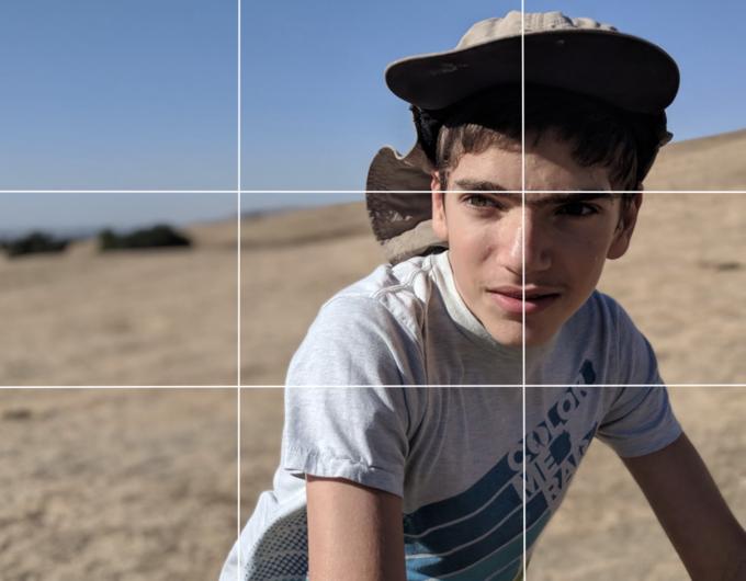 Pixel 2 Regola dei Terzi