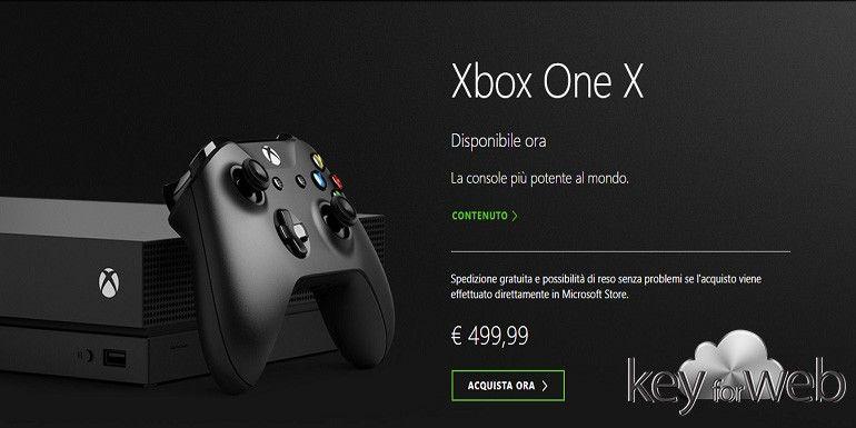 Xbox One X lanciata ufficialmente in tutto il mondo