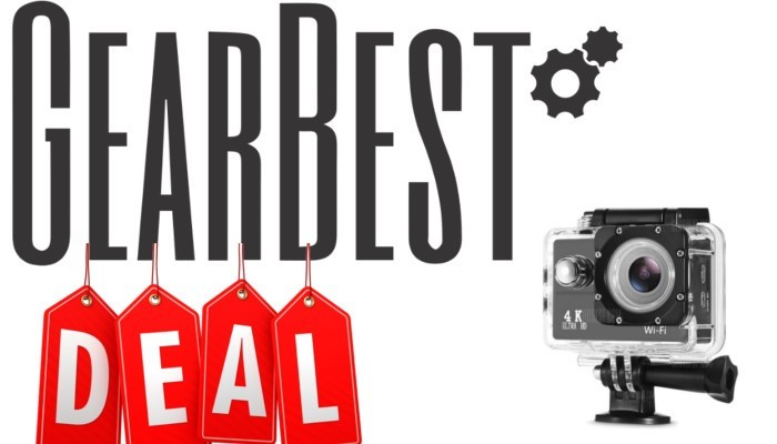 GearBest offre una Action Camera 4K a 21€!