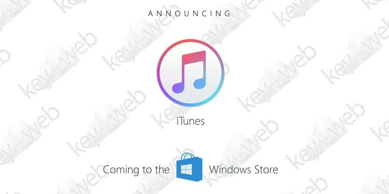 Apple conferma: niente iTunes su Microsoft Store fino al 2018
