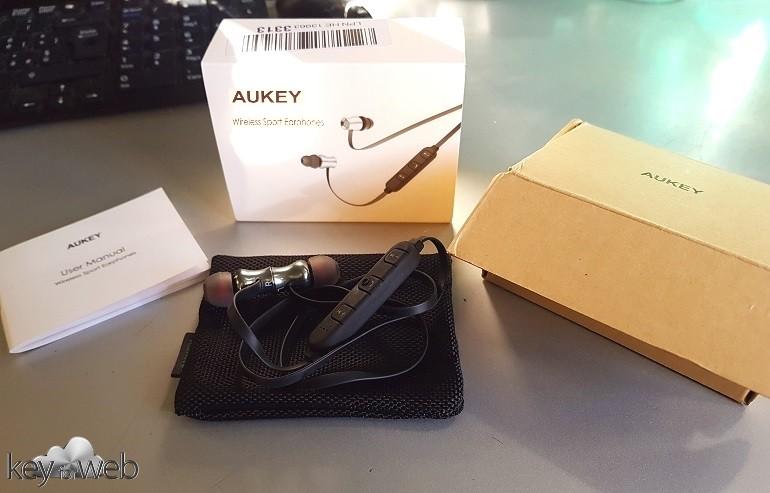 Contenuto Aukey EP-B37 Wireless Sport Earphones