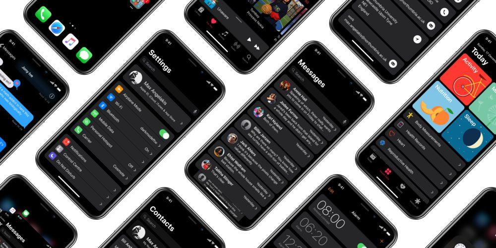 Dark Mode su iOS 11, se fosse così?