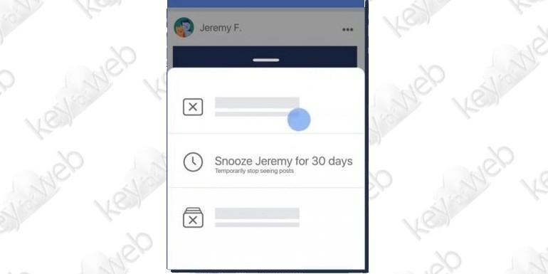 """Facebook: ecco il pulsante per """"disattivare"""" amici e pagine"""
