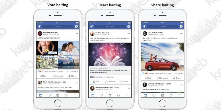 Facebook penalizzerà i post che richiedono donazioni, commenti e condivisioni
