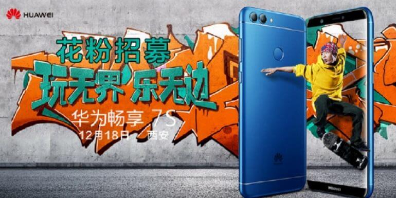 Huawei Enjoy 7S sarà annunciato il 18 dicembre in Cina
