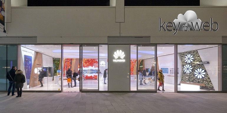 Huawei Experience Store apre in Italia, il primo in Europa